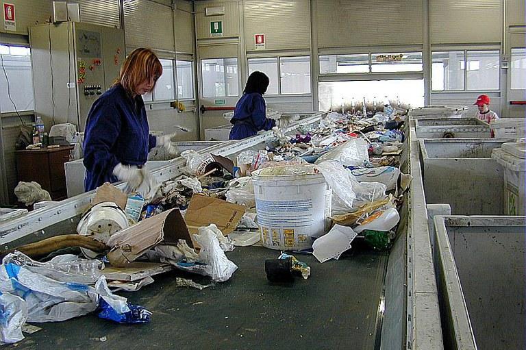 differenziazione rifiuti