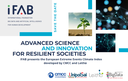 Advanced Science and Innovation for Resilient Societies: E³CI