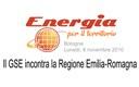 Il GSE incontro la Regione Emilia-Romagna
