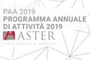 Aster, approvato il Programma annuale di attività