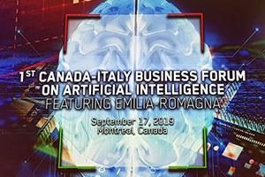 Forum IA Italia-Canada, al via gli incontri della Data Valley emiliano-romagnola