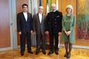 Nuove opportunità, incontro in Regione con l'ambasciatore iraniano