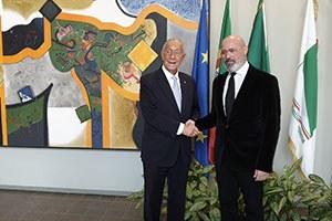 Relazioni internazionali, visita in Regione del presidente e dell'ambasciatore del Portogallo