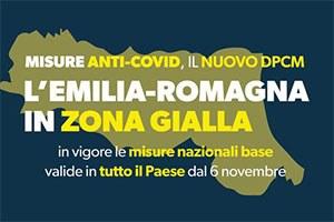 Emilia-Romagna zona gialla: le misure per le imprese in vigore fino al 3 dicembre