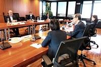 Incontro a Bologna con l'ambasciatore giapponese in Italia