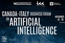 Intelligenza artificiale, torna il Canada-Italy Business Forum