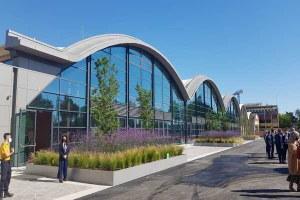 Centro meteo. Passaggio di consegne della nuova sede del data center meteorologico che ospita una delle macchine per il calcolo più importanti al mondo