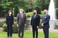 Il presidente Bonaccini in missione in Lussemburgo: collaborazione in campo economico, tecnologico, turistico e culturale