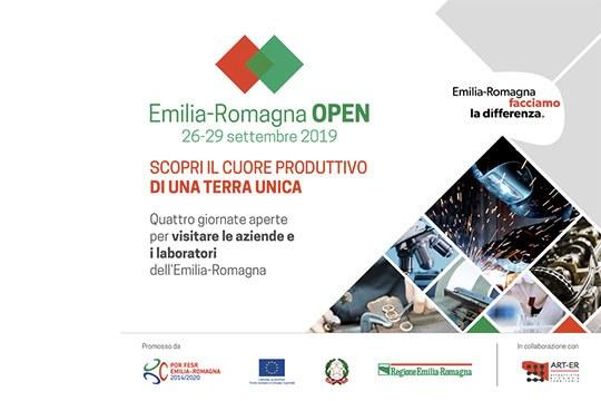 Emilia-Romagna Open: imprese e laboratori aprono le porte ai cittadini