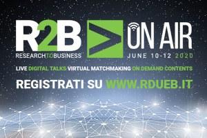 R2B On Air: nuova società digitale post Covid e sviluppo economico sostenibile